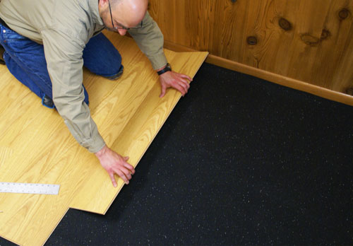 Acoustical Underlayment for Residential Buildings
