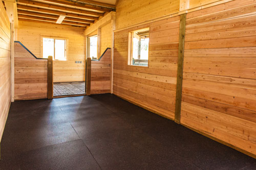 Rubber Matting for Horse Stalls
